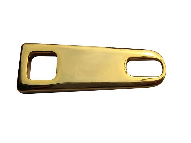 Puxadores de zíper metal