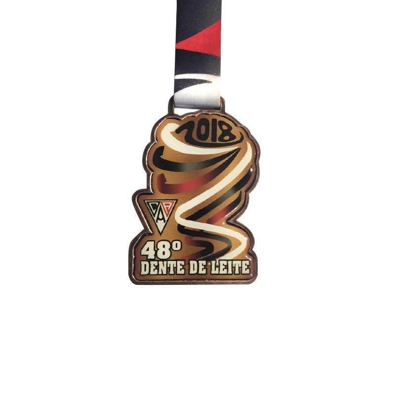 Medalhas para campeonato de futebol