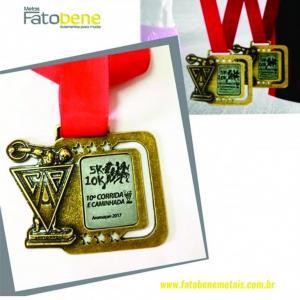 Medalhas para campeonato